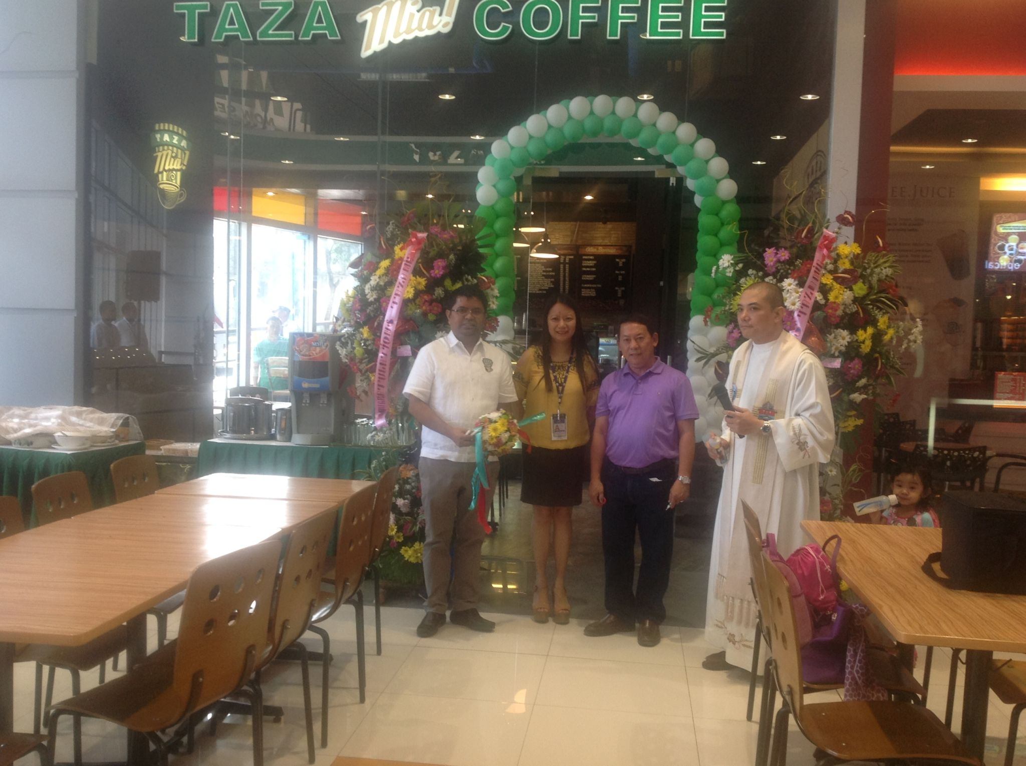 Taza Mia Opens 7th Branch at SM City Lipa