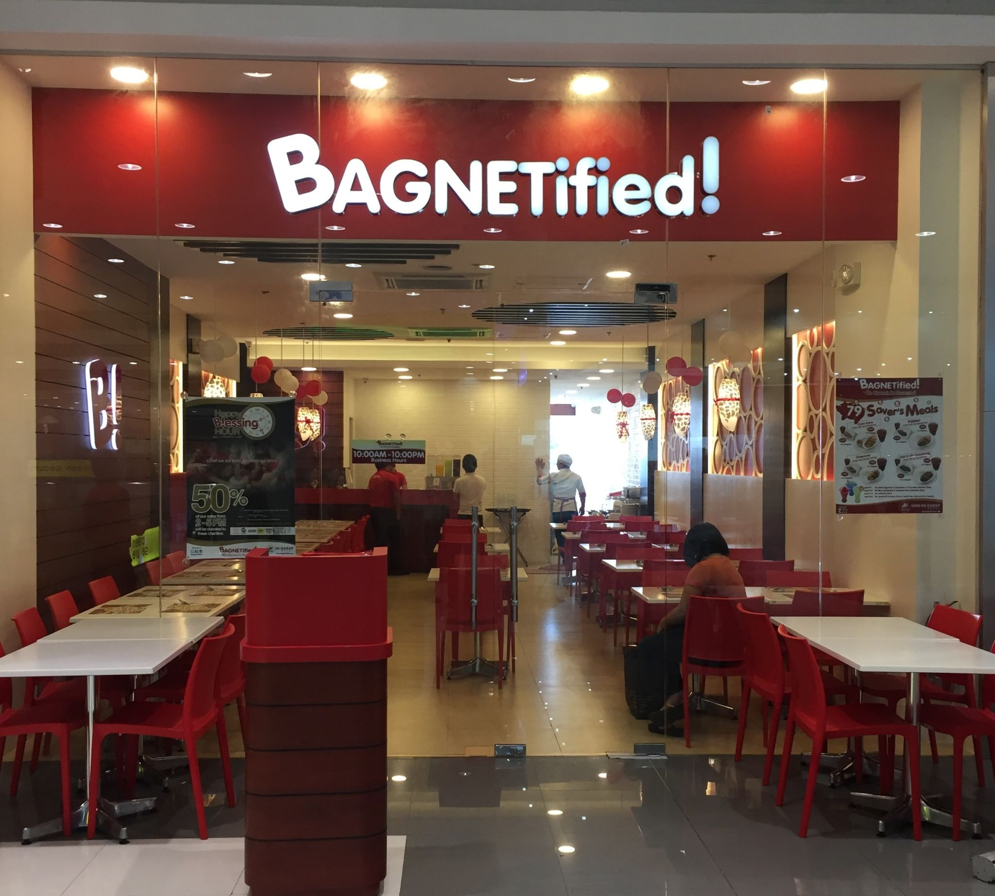Bagnetified and Kuya J Open at SM City Lipa