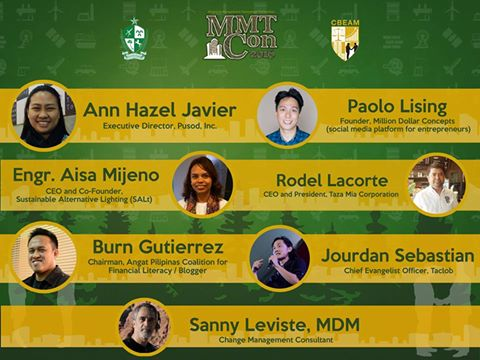 DLSL MMT Con 2016 – Going Sustainable and Global: Living the Animo in Business