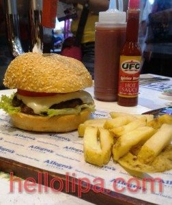 Allegra's Burger with Cheese