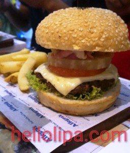 Allegra's Luau Burger