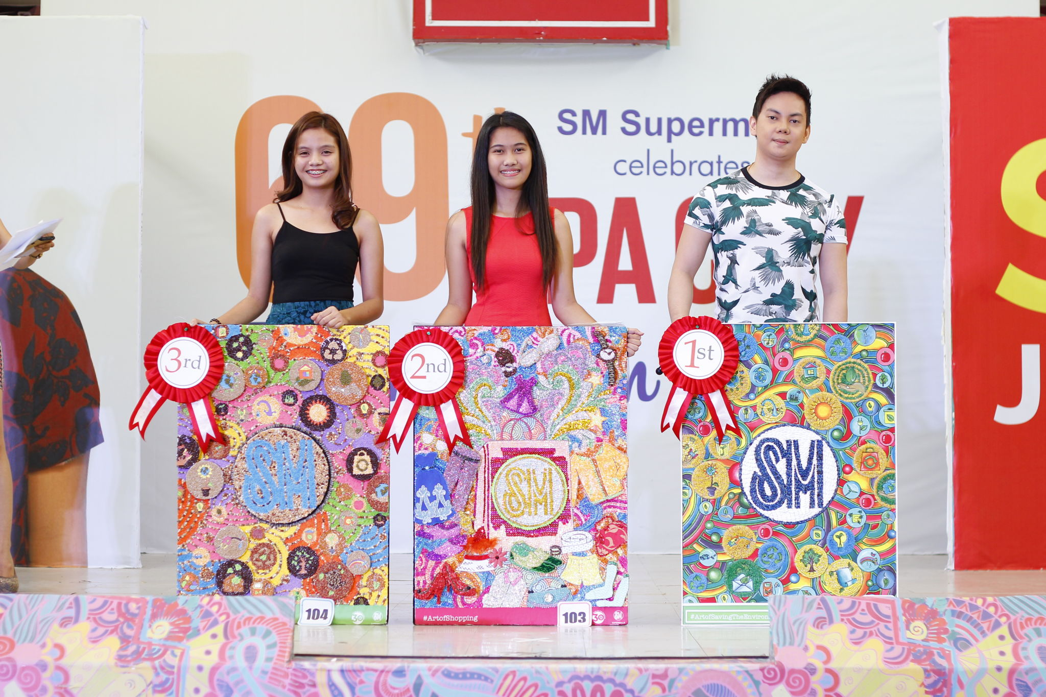 Shop and Make Art Winners Awarded on Lipa City's 69th Foundation Day