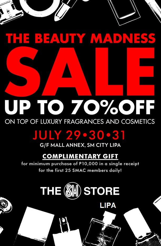 Luxury Brands on Sale at SM City Lipa