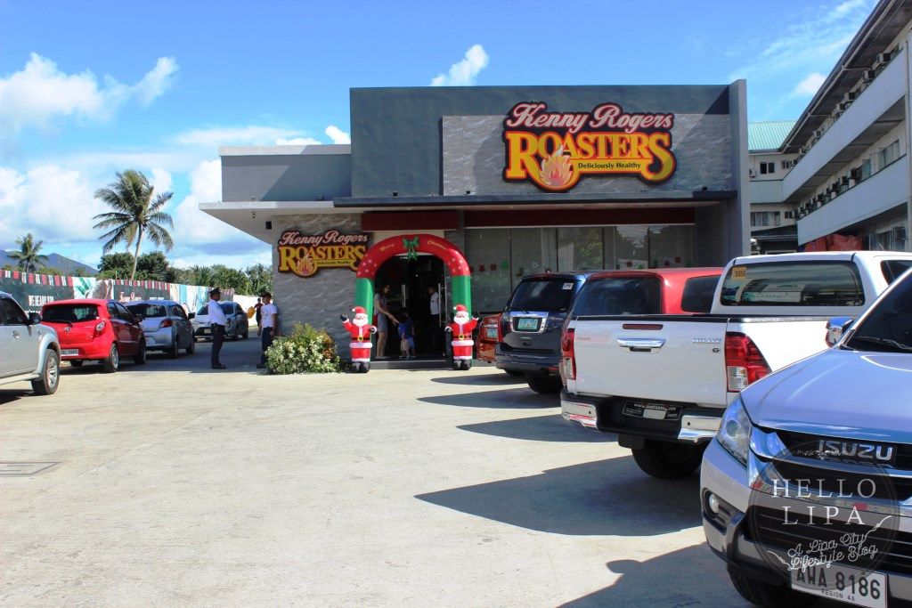 Kenny Rogers Roasters Back in Lipa City with Yummier and Healthier Dishes