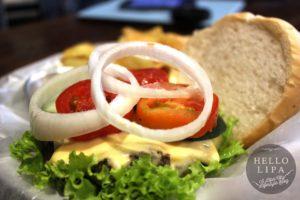 Downtown Burgers Cheeseburger