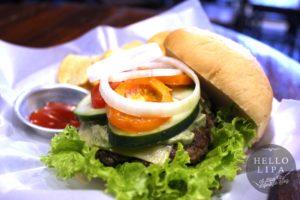 Downtown Burgers Pesto Burger