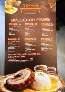 Bellichon Feast