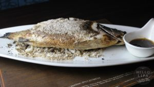 Salt Crusted Apahap