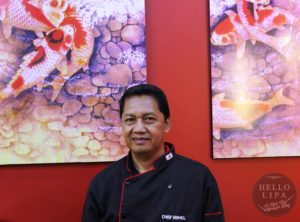 Chef Rommel Aguila