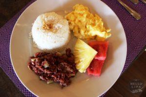 Breakfast at Cintai
