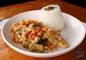 Salted Egg Bagnet