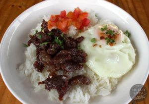 Ilocos Beef Tapa