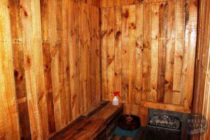 traditional sauna bath