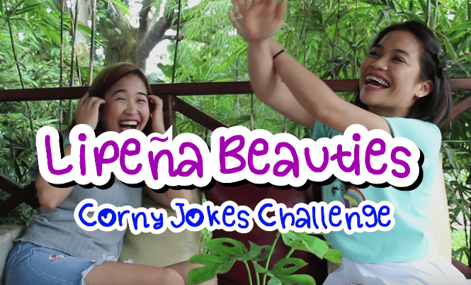 Lipeña Beauties Take on the Corny Filipino Jokes Challenge
