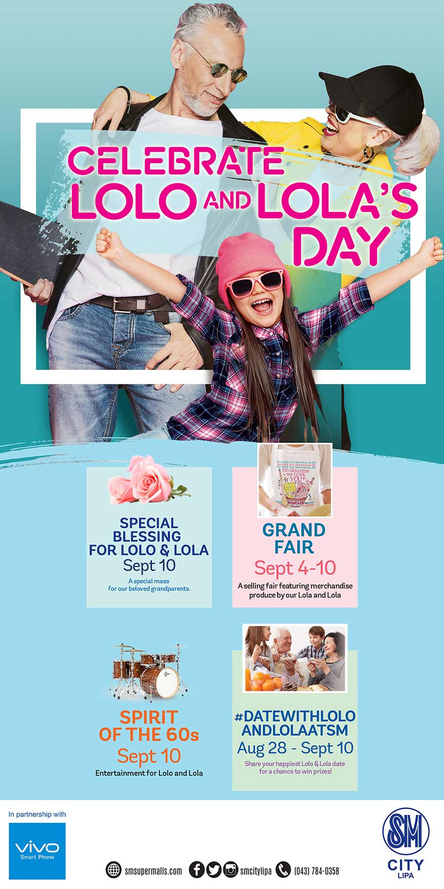 Grandparents Day at SM Malls