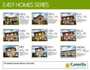Camella Model Houses