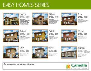 Camella Model Houses