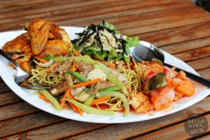 Asian Flavours at Lima Park Hotel