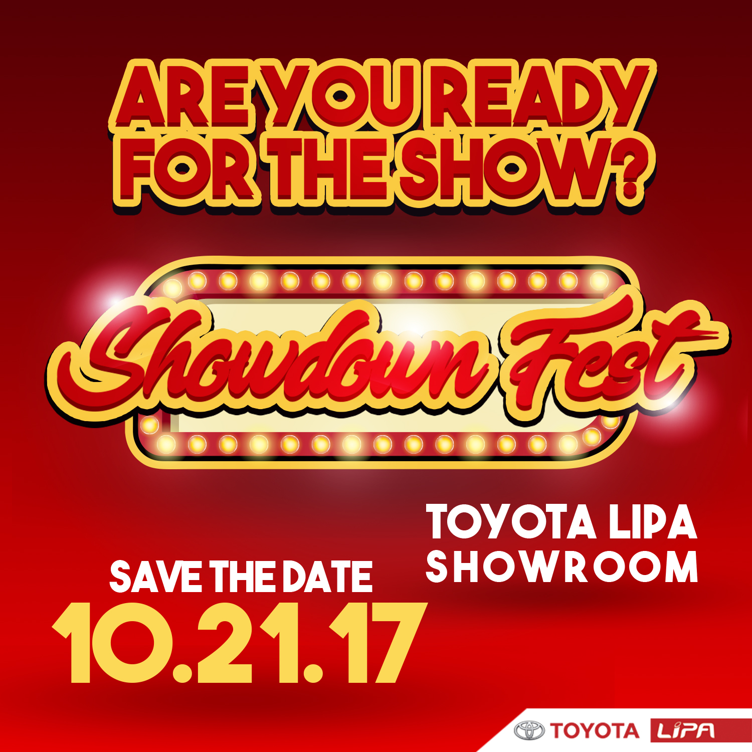 Celebrate Octoberfest at Toyota Lipa with their Showdown Fest