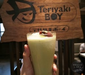 Green Tea Milkshake