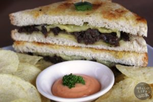 Beef Grilled Cheeseteak