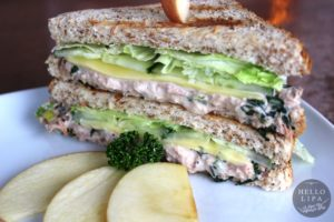 Apple Tuna Sandwich