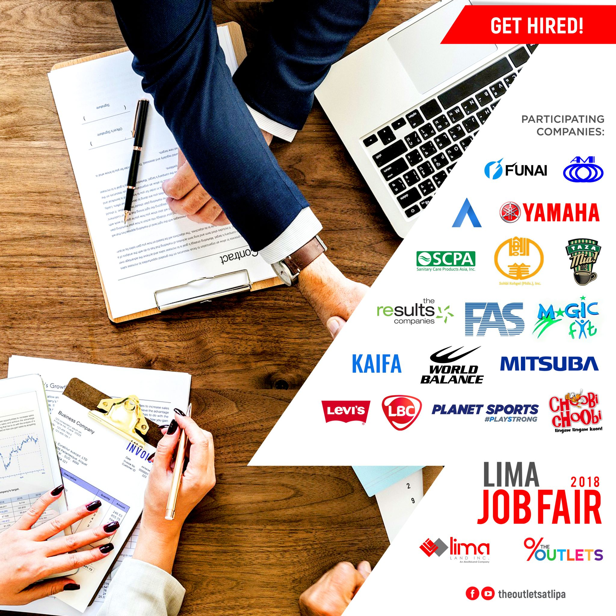 Get Hired at the LIMA Job Fair 2018