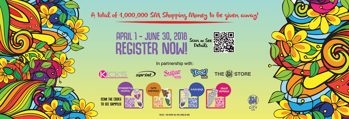 "SM Kicks-off Shoe-Art Contest ""Sneaktify"""