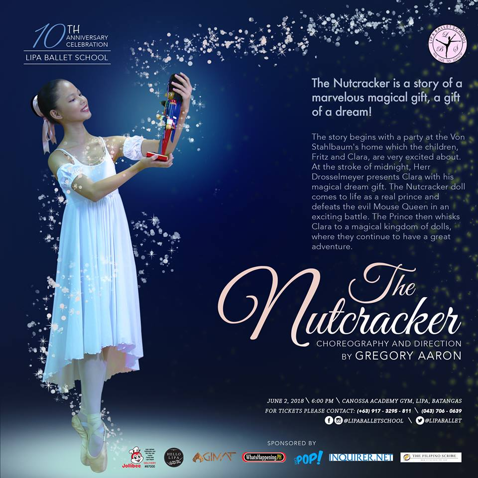Lipa Ballet School to Stage a Production of The Nutcracker