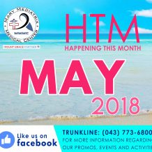 Happening this Month of May at the Mary Mediatrix Medical Center