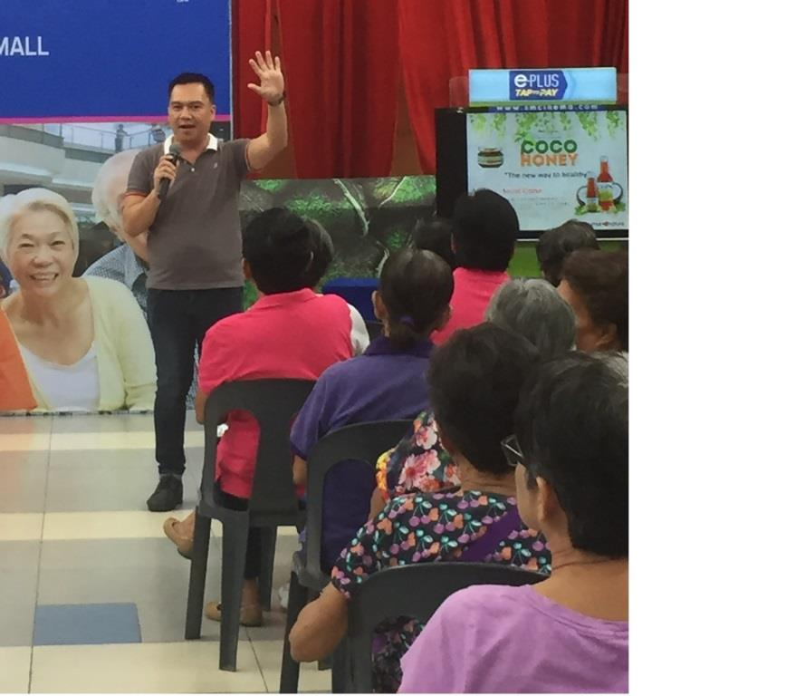 Seniors Enjoyed Livelihood Seminar at SM City Lipa
