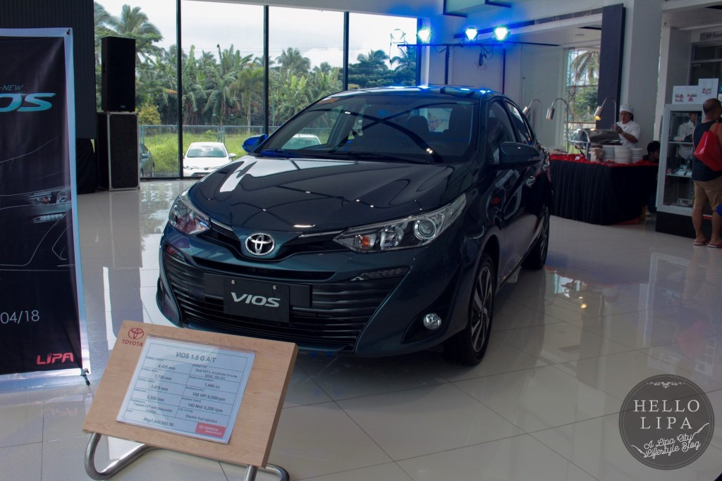 The All New Vios Launched at Toyota Lipa