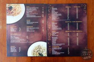 due fratelli cafe menu