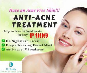 anti acne treatment