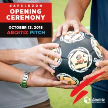 The Aboitiz Football Cup – Luzon Set to Open on October 13 at The Aboitiz Pitch of The Outlets at Lipa