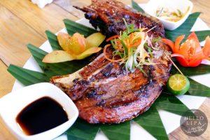 Grilled Panga ng Tuna