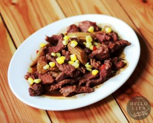 Beef and Baby Corn Stir Fry