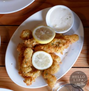 Fish Fillet in Lemon Mayo Dip