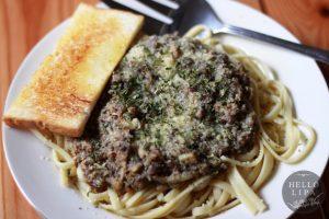 Sardines and Garlic Pasta