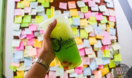 Gotcha-a Milktea Lipa: Happiness in Every Cup and Plate