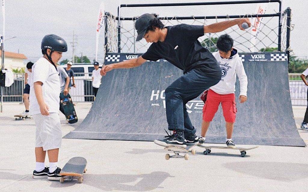 Free Skate Boarding Clinic at SM City Lipa