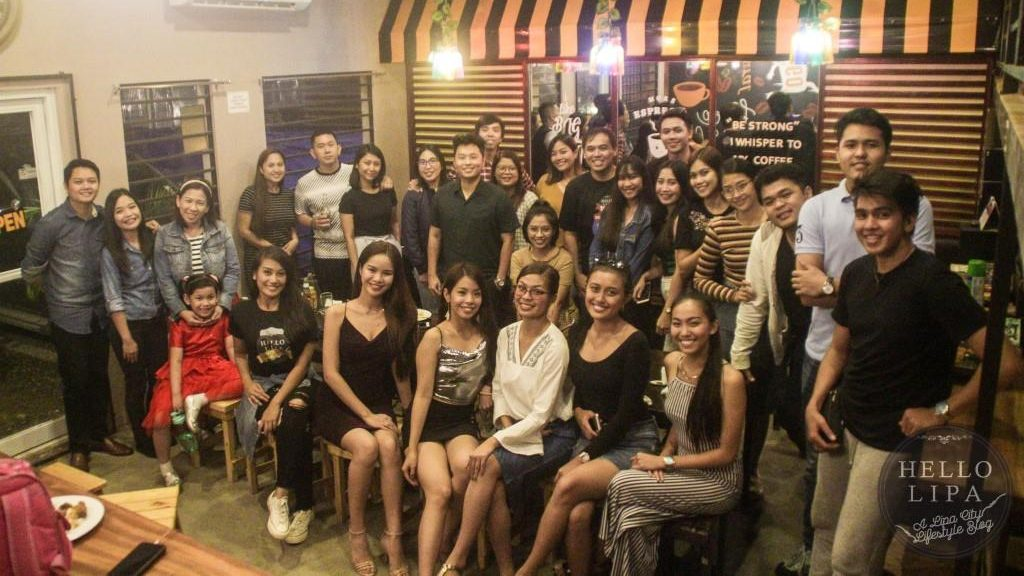 Party at Gabz Café and Lounge to Celebrate Hello Lipa's 100,000 Followers and Jayzar Recinto's Birthday