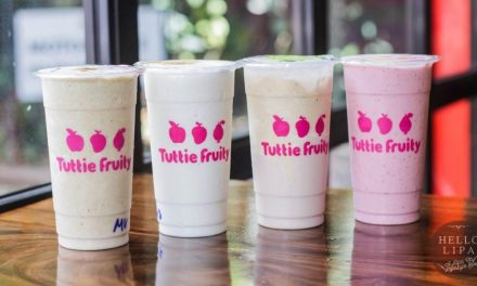 Tuttie Fruity Cafe: Now Open with Healthy and Delicious Meals at Big Ben Lipa