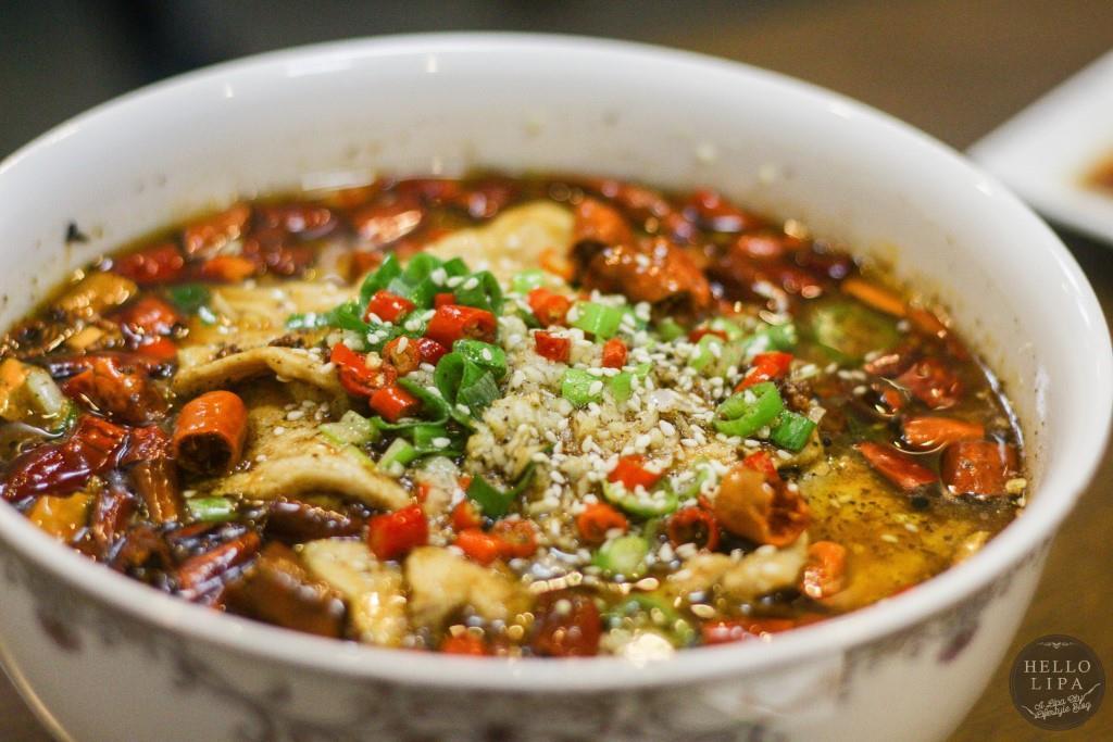 Szechuan Spicy Pork Meat Stew