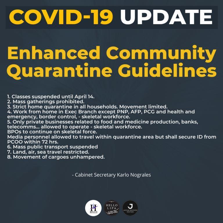 enhanced community quarantine