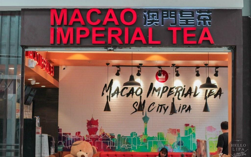 Macao Imperial Tea SM City Lipa: Give In to the Cravings